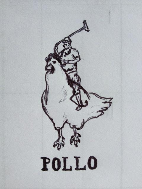 Pollo…