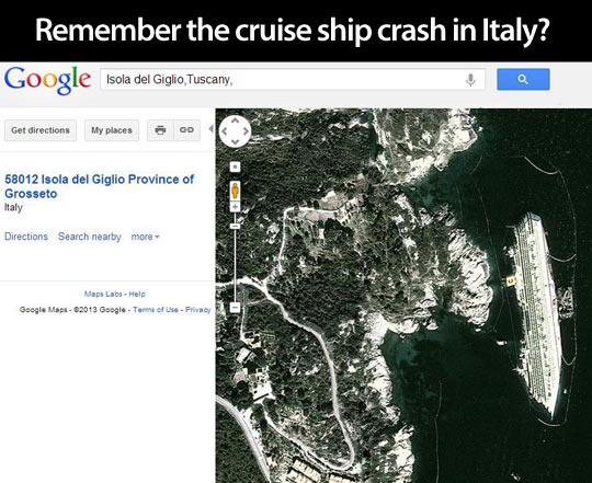 funny-ship-crash-Google-Maps