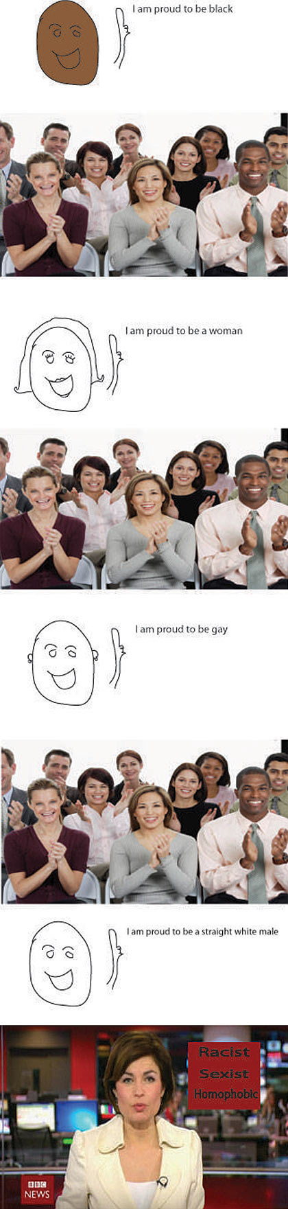I'm proud to be…