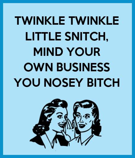 Twinkle twinkle little snitch…