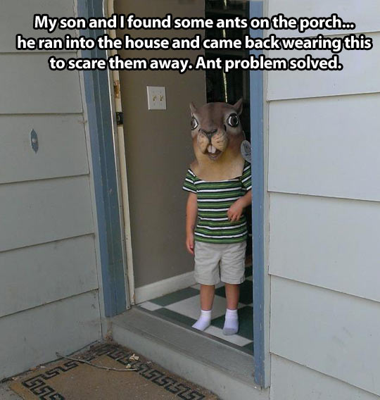 funny-squirrel-mask-kid-guy