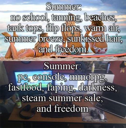 My happy summer…