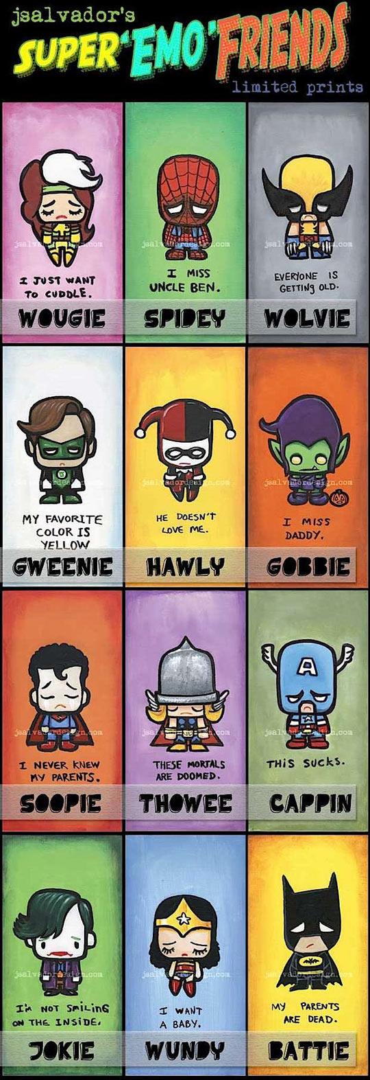 Super Emo Friends…