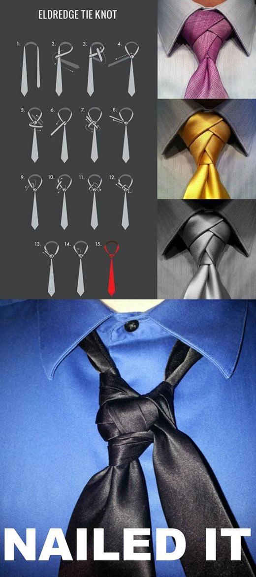 Eldredge tie knot…