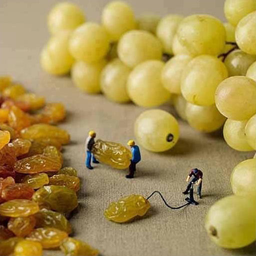 How grapes are made…