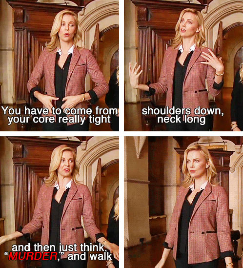 How to walk like a queen…