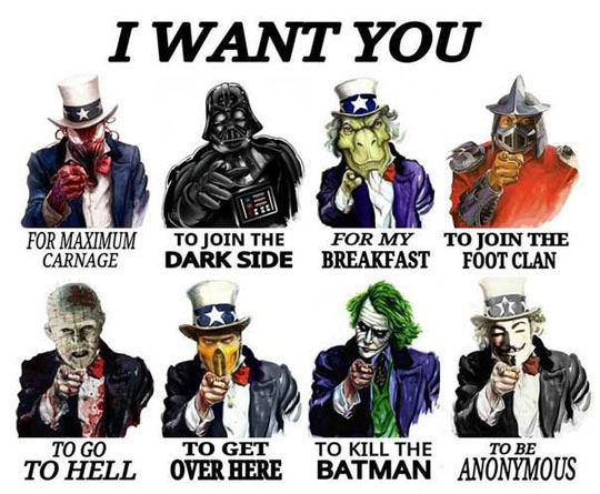 They want you…