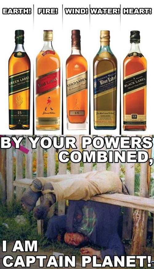 By your powers combined…