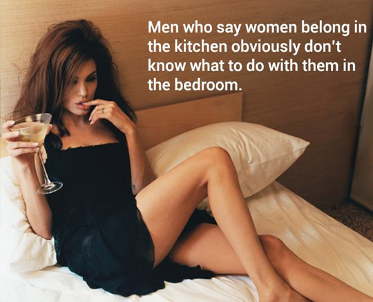 funny-women-belong-kitchen-bedroom