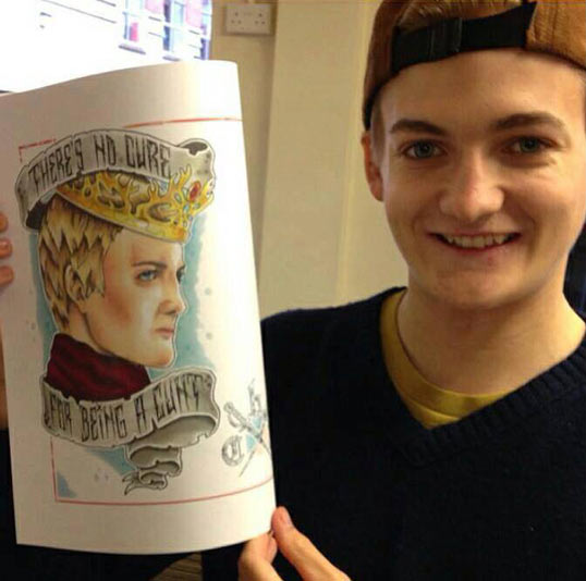 Yet another amazing young actor from Game of Thrones…