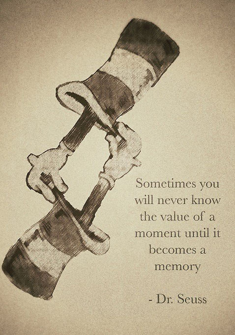 Dr. Seuss' wise words…