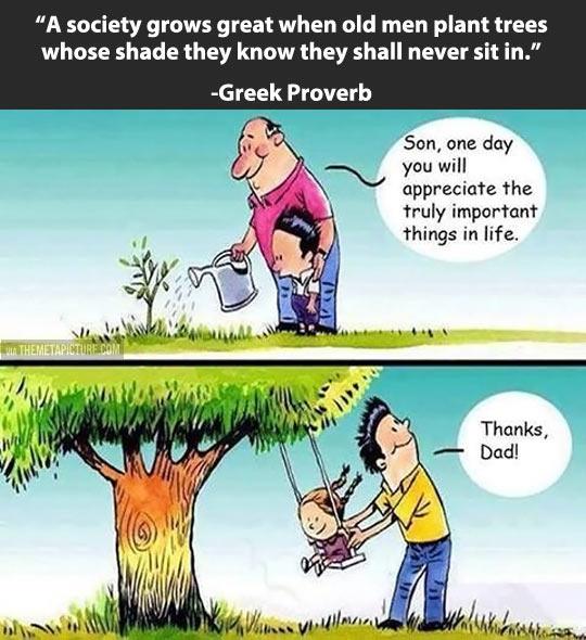 Greek Proverb…