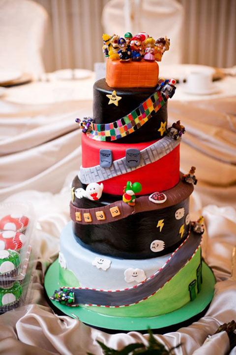 cool-Mario-Kart-cake-wedding