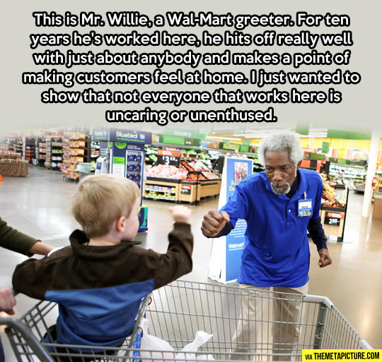 The amazing Mr. Willie…