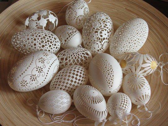 Eggshells…