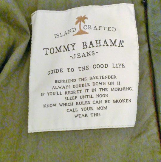 Jacket wisdom…