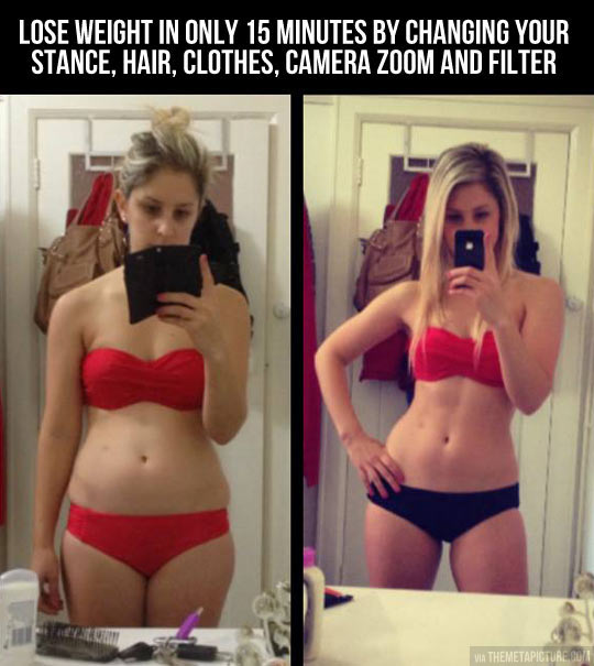 Lose weight in only 15 minutes…