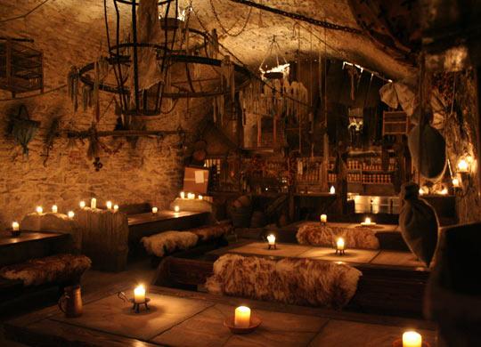 A 14th century Medieval tavern in Prague…