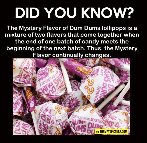 Mystery Dum Dums…