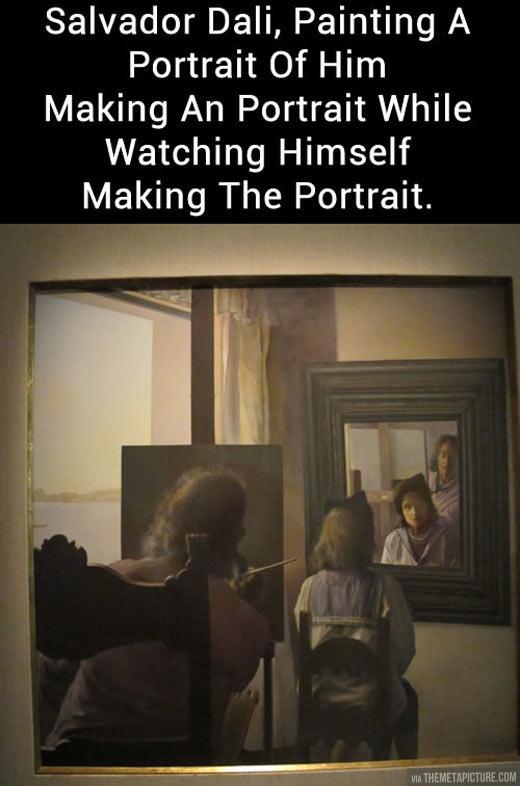cool-painting-Dali-self-portrait
