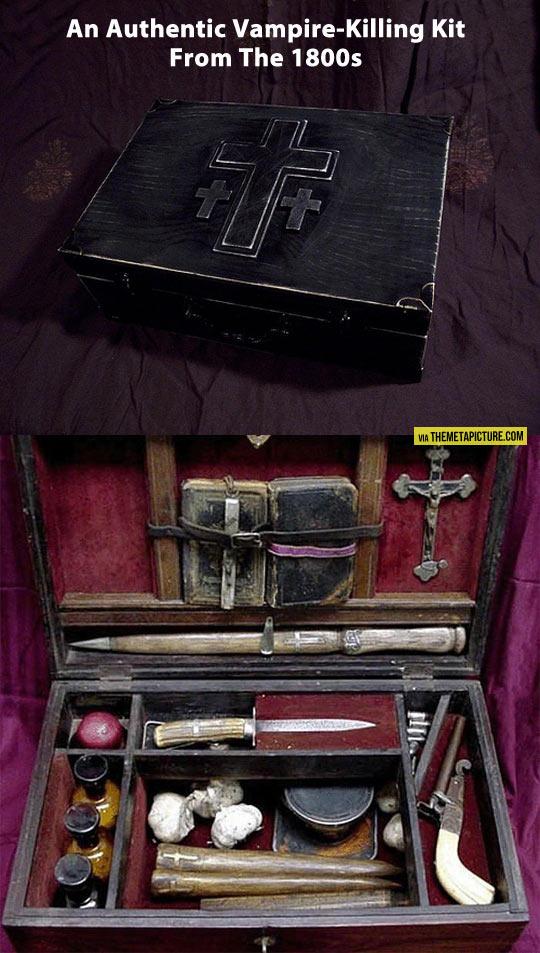 Real vampire kit…