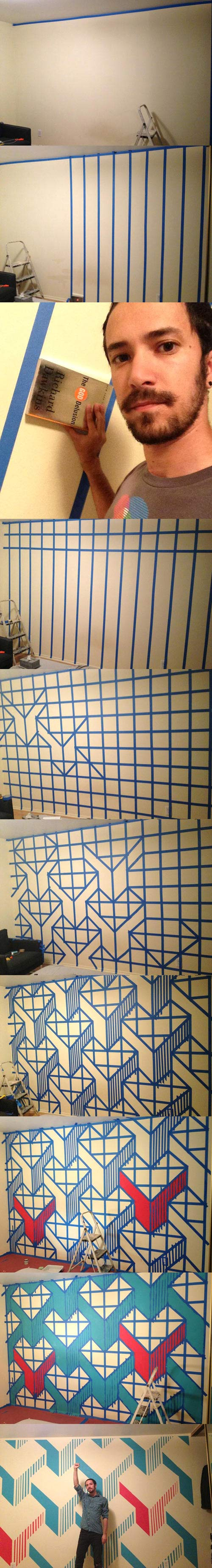 Awesome wall design…