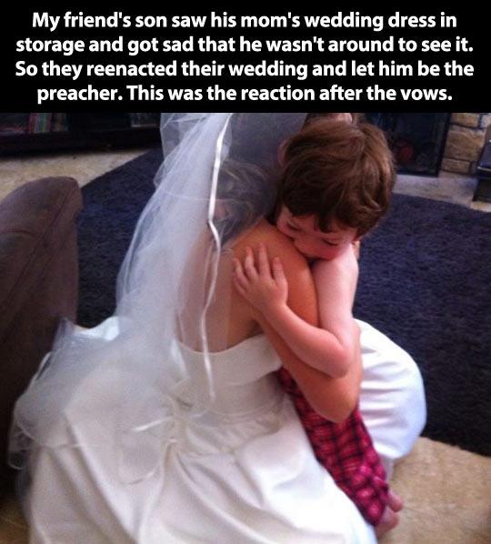 A priceless reaction…