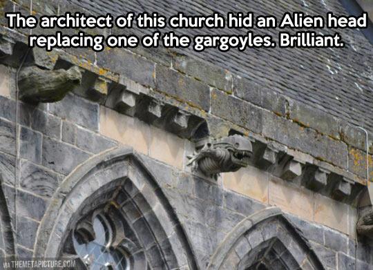 Architecture troll…