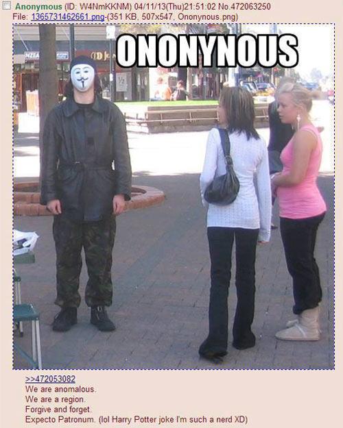 Ononynous…
