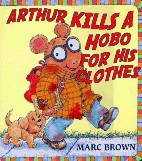 I don't remember this Arthur book…