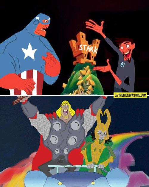 Tony Stark's New Groove…