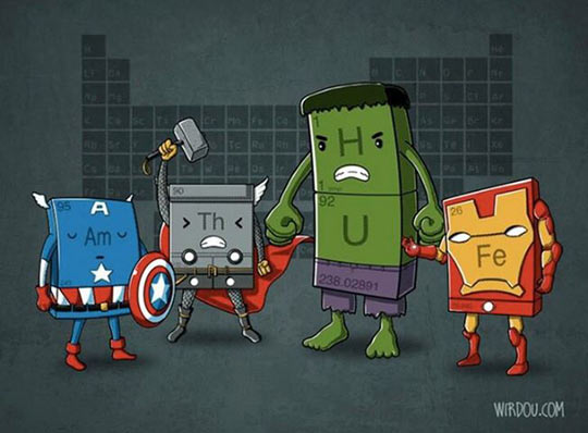 funny-Avengers-chemical-elements-table