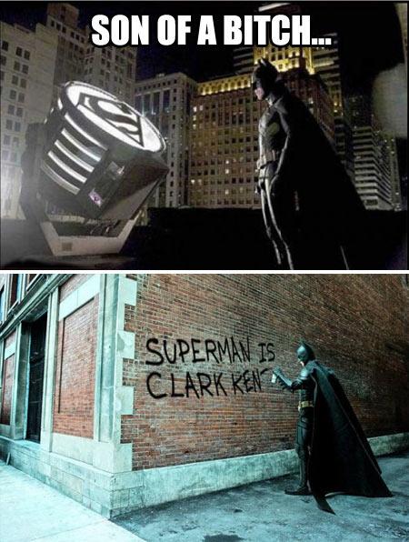 Batman's revenge…