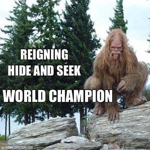 funny-Big-Foot-hide-seek-champion