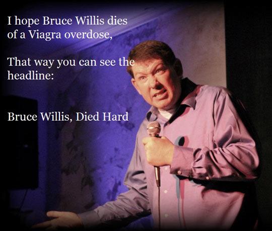 Bruce Willis' death…