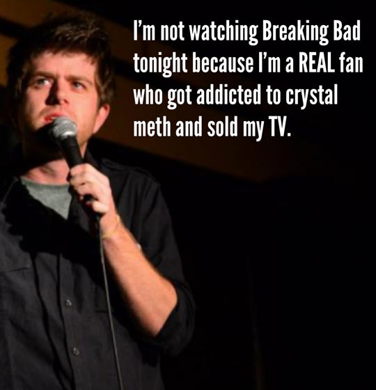 A true Breaking Bad enthusiast…
