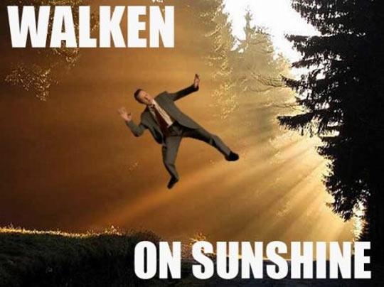 Walken on sunshine…