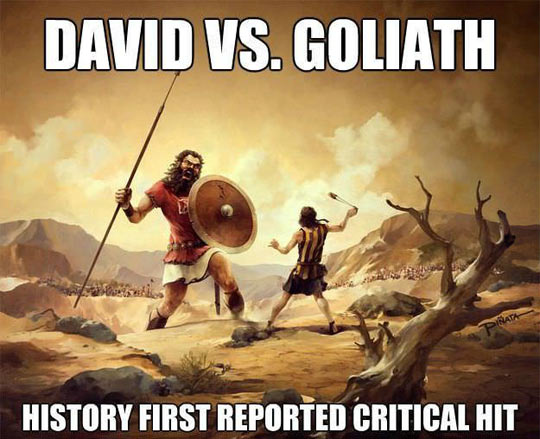 funny-David-Goliath-fight-critical-hit