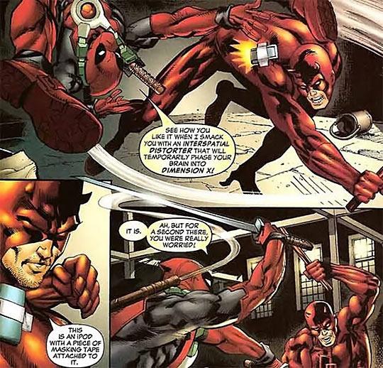 Deadpool vs. Daredevil…