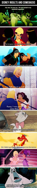 The best and wittiest Disney comebacks...