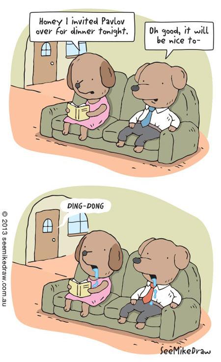funny-Doctor-Pavlov-cartoon-dinner