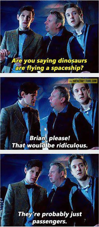 funny-Doctor-Who-dinosaurs-spaceship