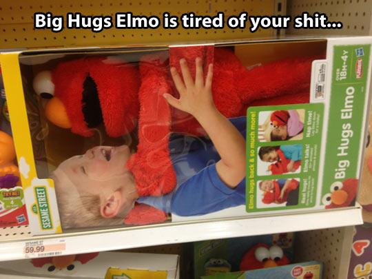 funny-Elmo-toy-hug-kid