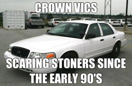 Crown Vics…