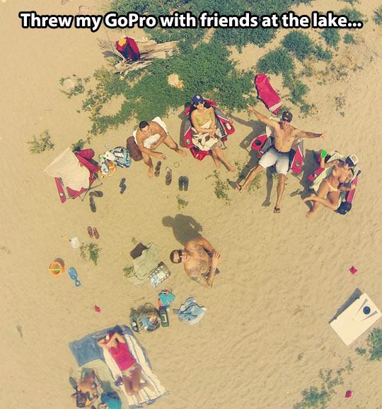 GoPro at the lake…