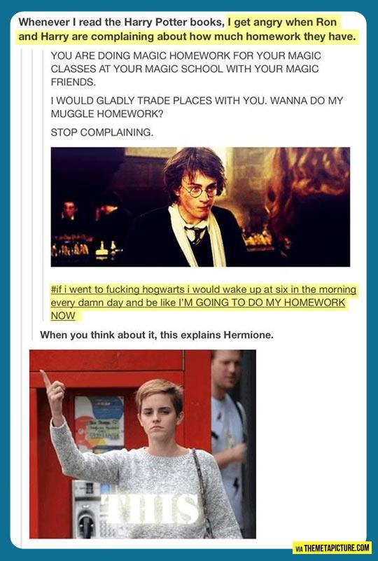 funny-Harry-Potter-homework-muggle
