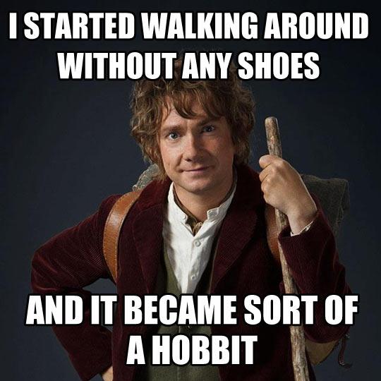 Bilbo's adventures…
