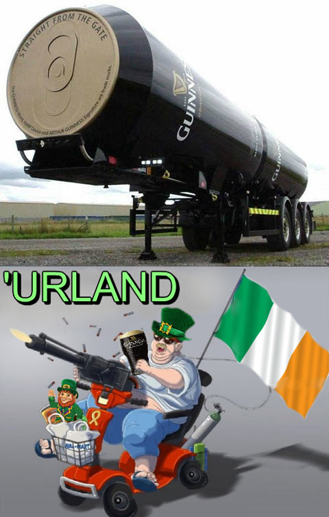 Ireland pride…