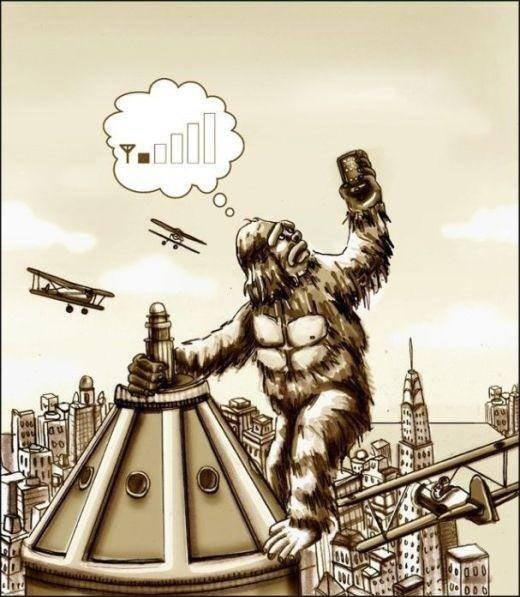 Misunderstood King Kong…