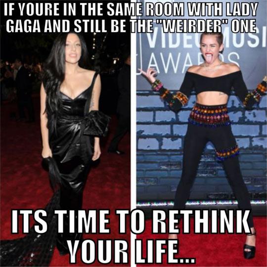 funny-Lady-Gaga-Miley-Cyrus-weirder